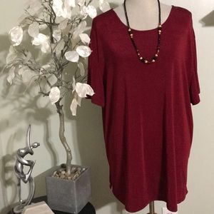 AGB PLUS SIZE STRETCHY TUNIC